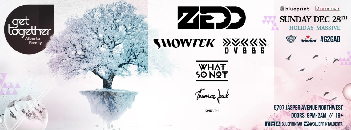 Get together 2014 blueprint events noize radio zedd showtek dvbbs what so not thomas jack shaw conference centre malvernweather Choice Image