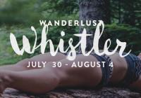Wanderlust Whistler 2015