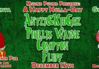 A Happy Holla-Day with Antzy! & Kid Grz, Phillis Wayne, Compton, Fluff