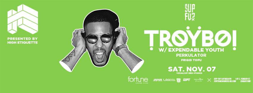TROYBOI [UK] @ Fortune Sound