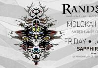 Random Rab Live with MoloKaii & Sinfonik