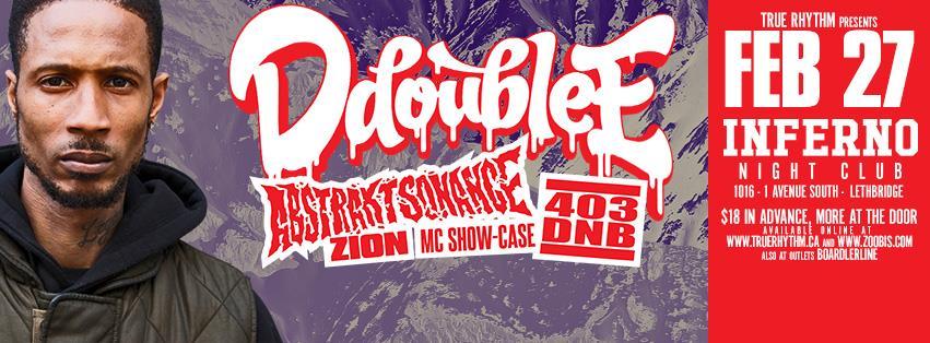 D Double E (UK) + Abstrakt Sonance + 403 DnB (Lethbridge)