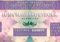 Astral Harvest & Live Synthetic present LONGWALKSHORTDOCK w/ RIMvisuals