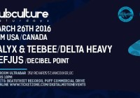 Ram Tour 2016 – Calyx & Teebee – Delta Heavy – Mefjus @ Red Room
