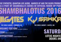 ShambhaLotus 2016 – Ill.Gates & KJ Sawka – Red Deer