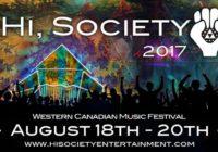 Hi, Society Music Festival 2017